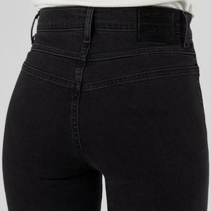 Levi's Mile High Rise Skinny Jeans Aces Black